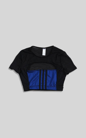 Vintage Rework Adidas Cut Out Tee - XS, S, M