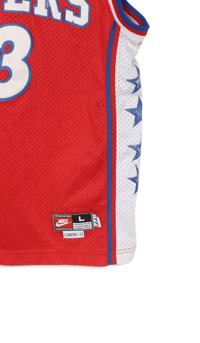 Vintage Sixers Jersey