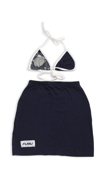 Vintage Rework Fubu Skirt Set - XS