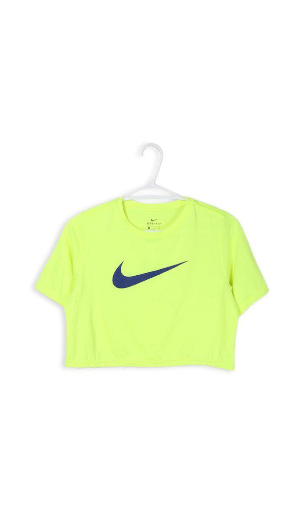 Vintage Rework Nike One Shoulder Top