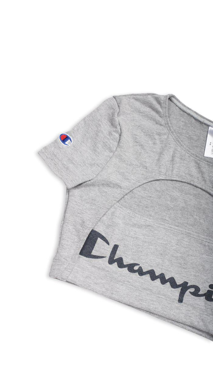Vintage Rework Champion Cut Out Tee