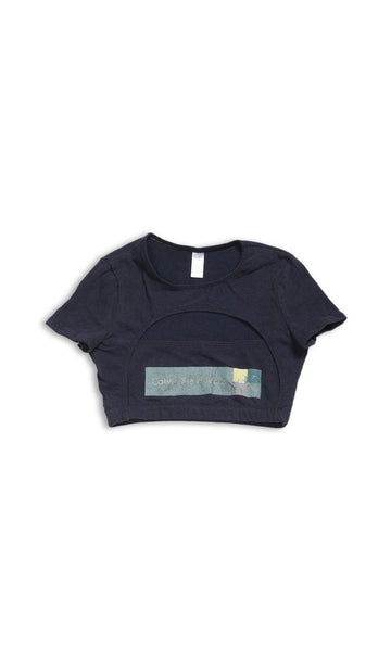 Vintage Rework Calvin Klein Cut Out Tee