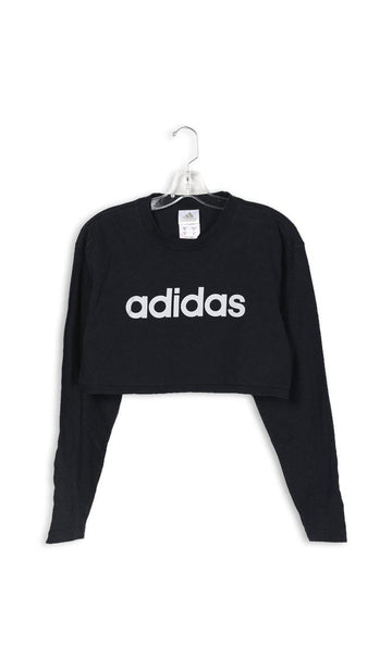 Vintage Rework Adidas Crop Long Sleeve Tee