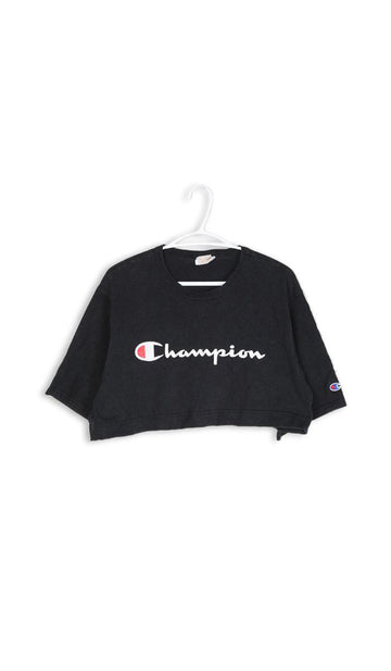 Vintage Rework Champion Crop Tee