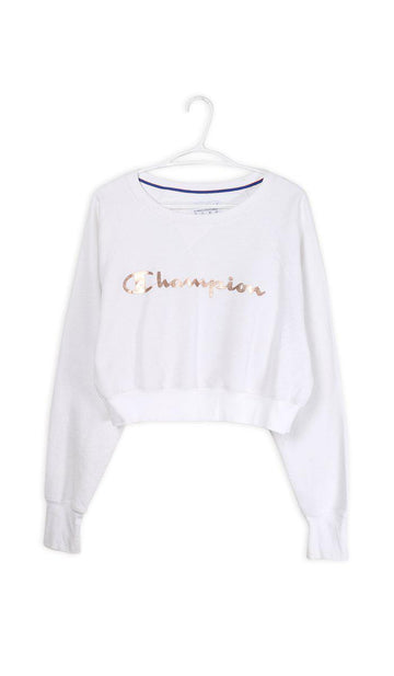 Vintage Champion Crop Sweatshirt