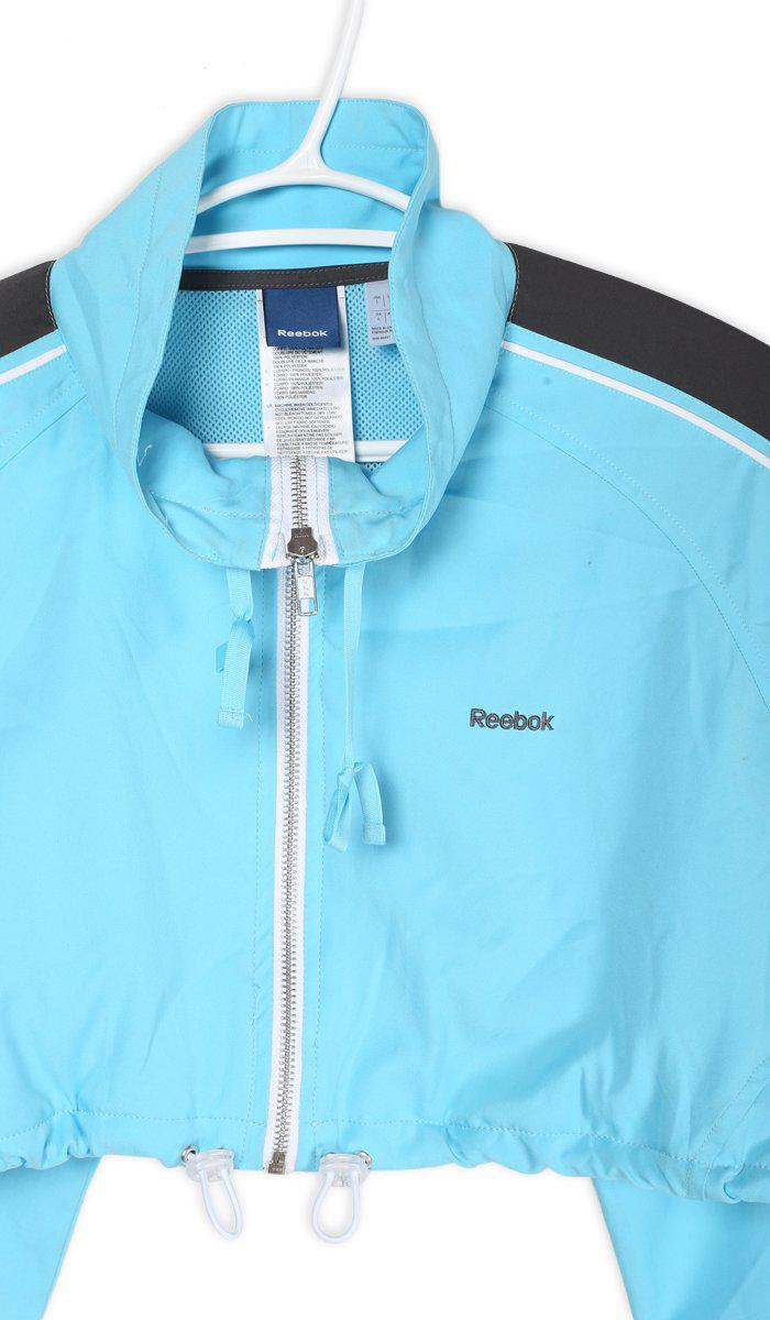 Vintage Reebok Crop Windbreaker Jacket