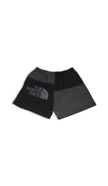 Vintage Rework North Face Patchwork Tee Shorts - L