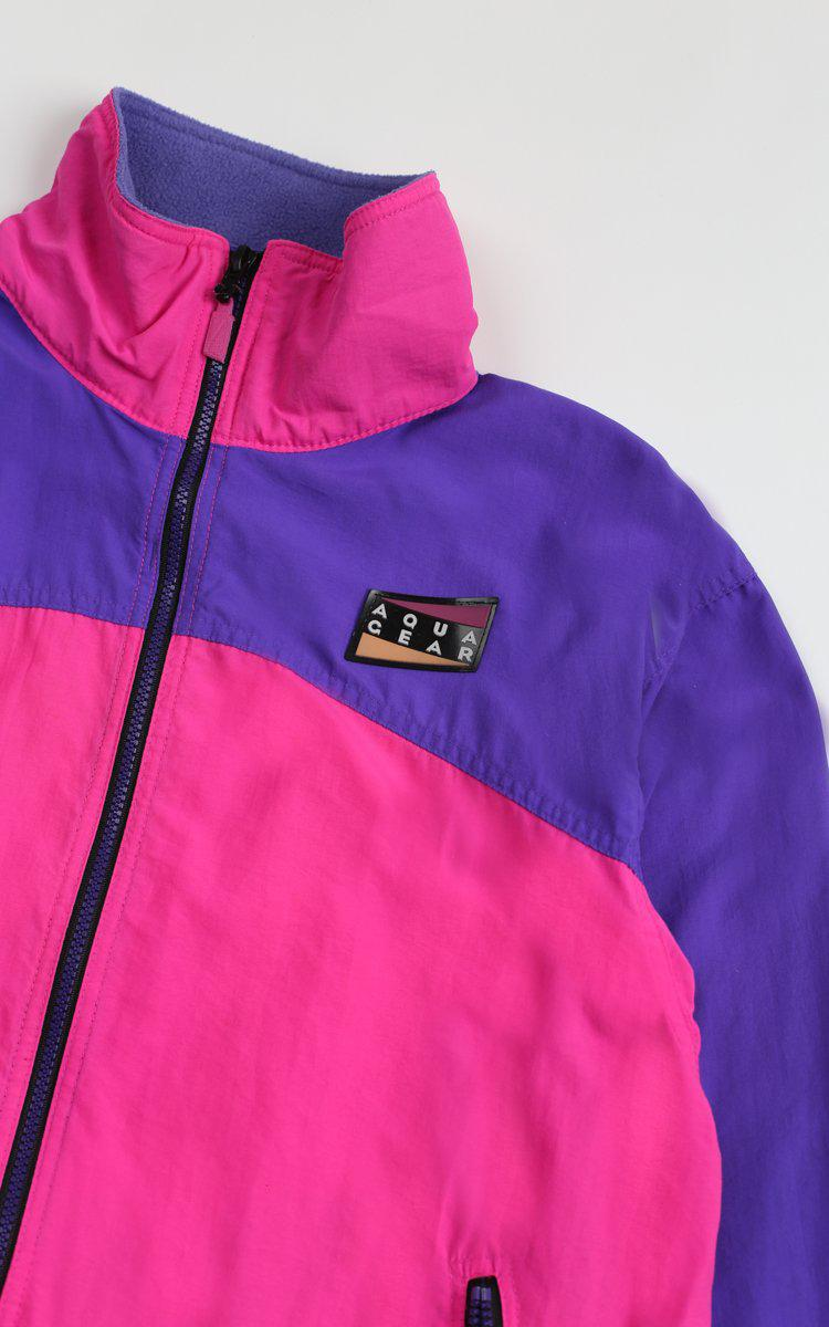 Vintage Aqua Gear Windbreaker Jacket