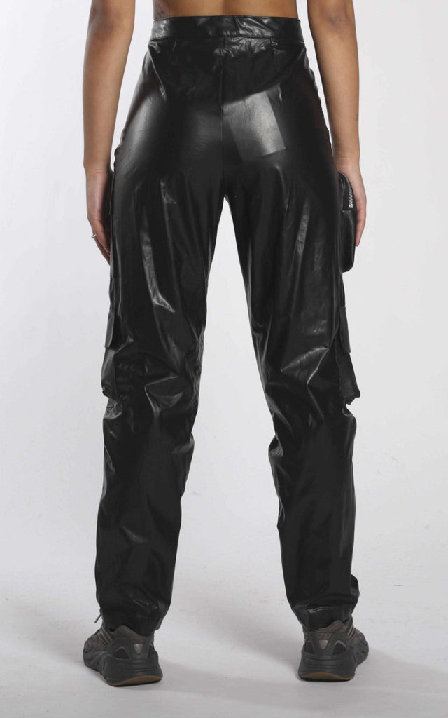 Vintage Rework Frankie Leather Pants