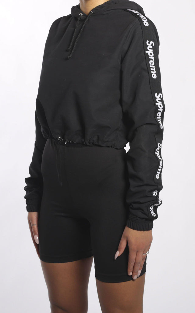 Supreme Cinched Crop Sweatshirt