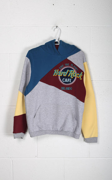 Vintage Patchwork Hard Rock Cafe Sweatshirt - XS