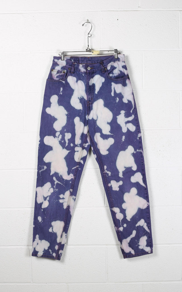 Vintage Tie Dye Denim Pants