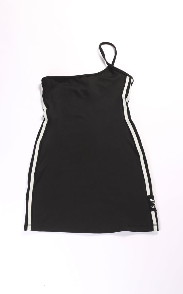 Vintage Rework Adidas One Shoulder Dress - S