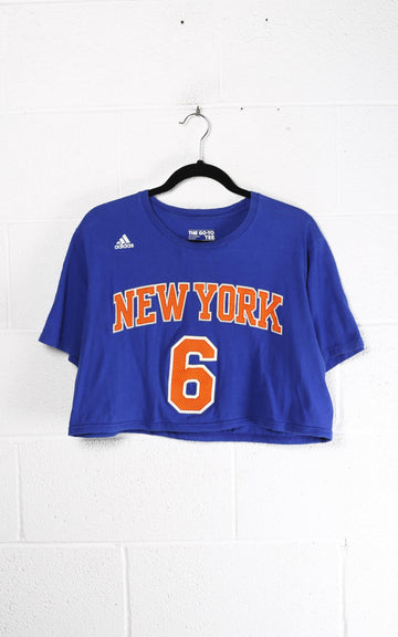 Vintage New York Knicks Crop Tee