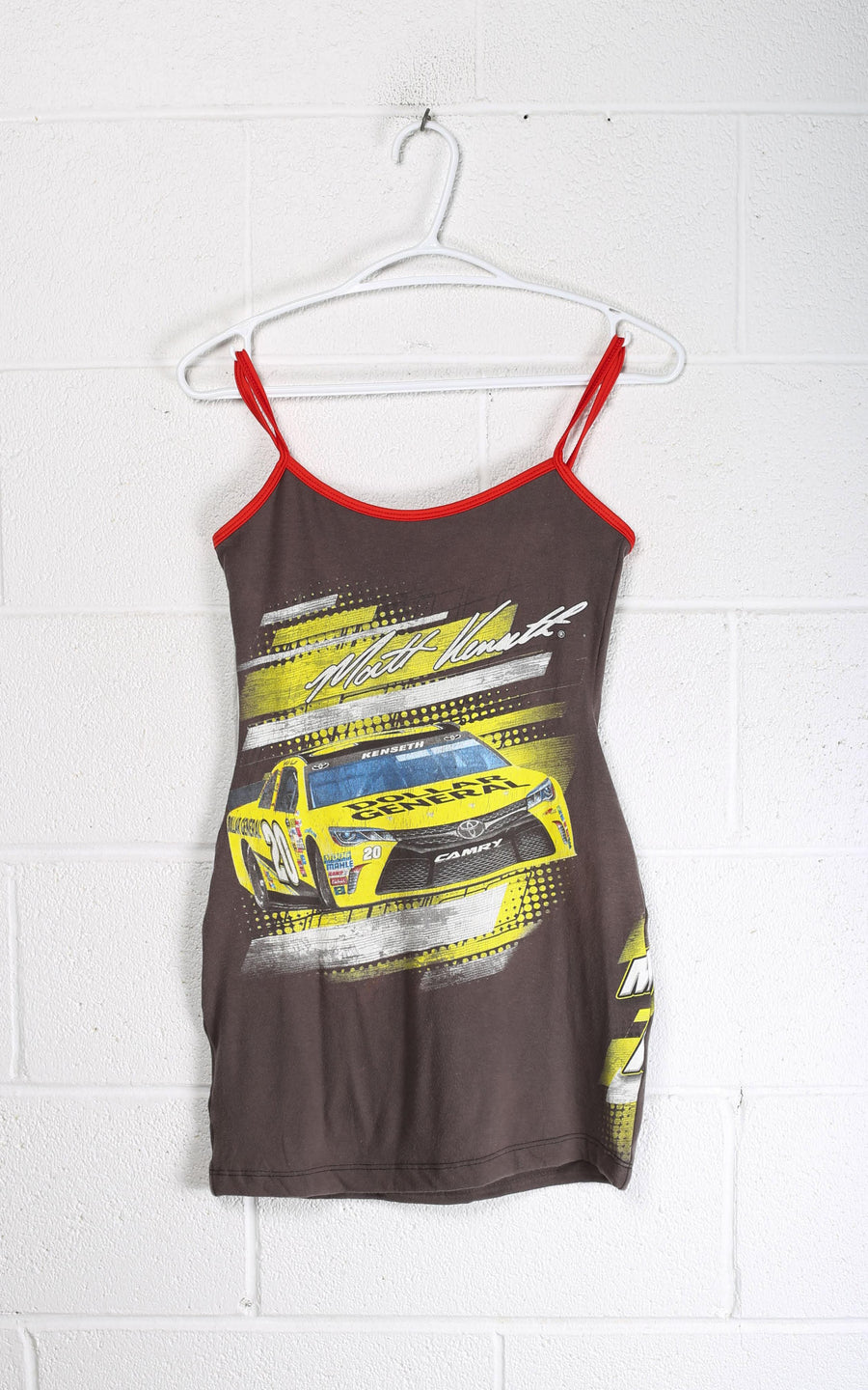 Vintage Rework Racing Dress - S