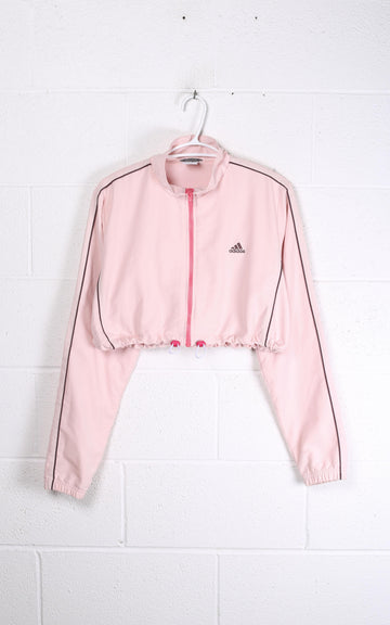 Vintage Adidas Crop Windbreaker Jacket