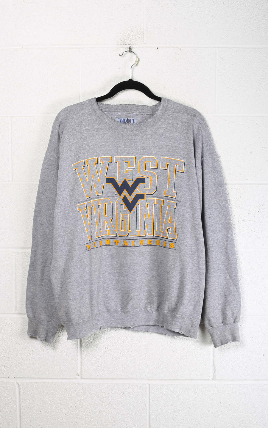 Vintage West Virginia Distressed Sweatshirt
