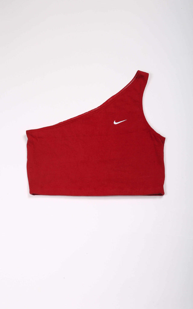 Vintage Rework Nike One Shoulder Tank - L