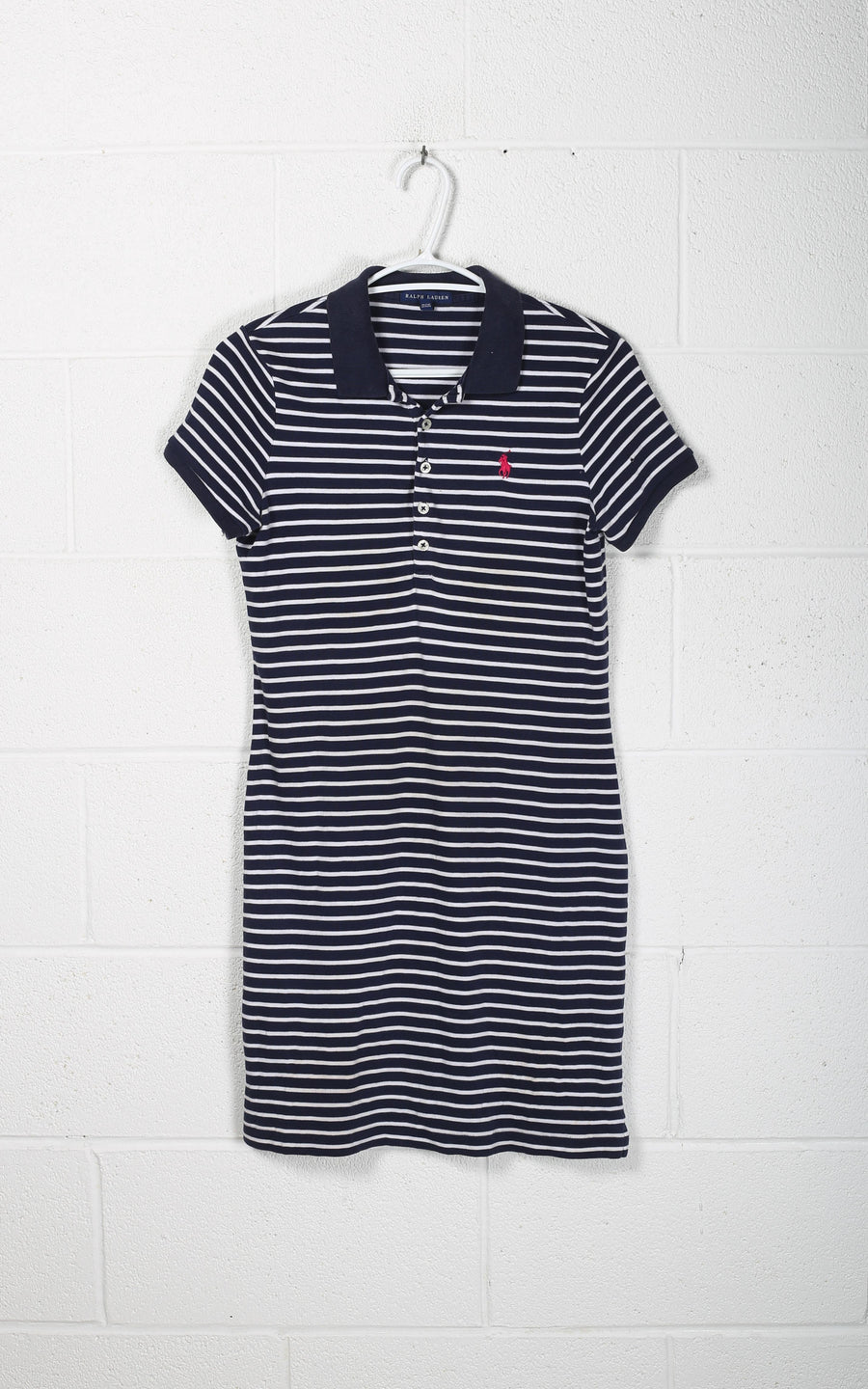 Vintage Polo Collared Dress