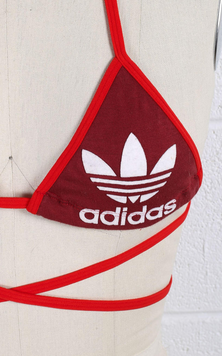 Vintage Rework Adidas Triangle Top - XS
