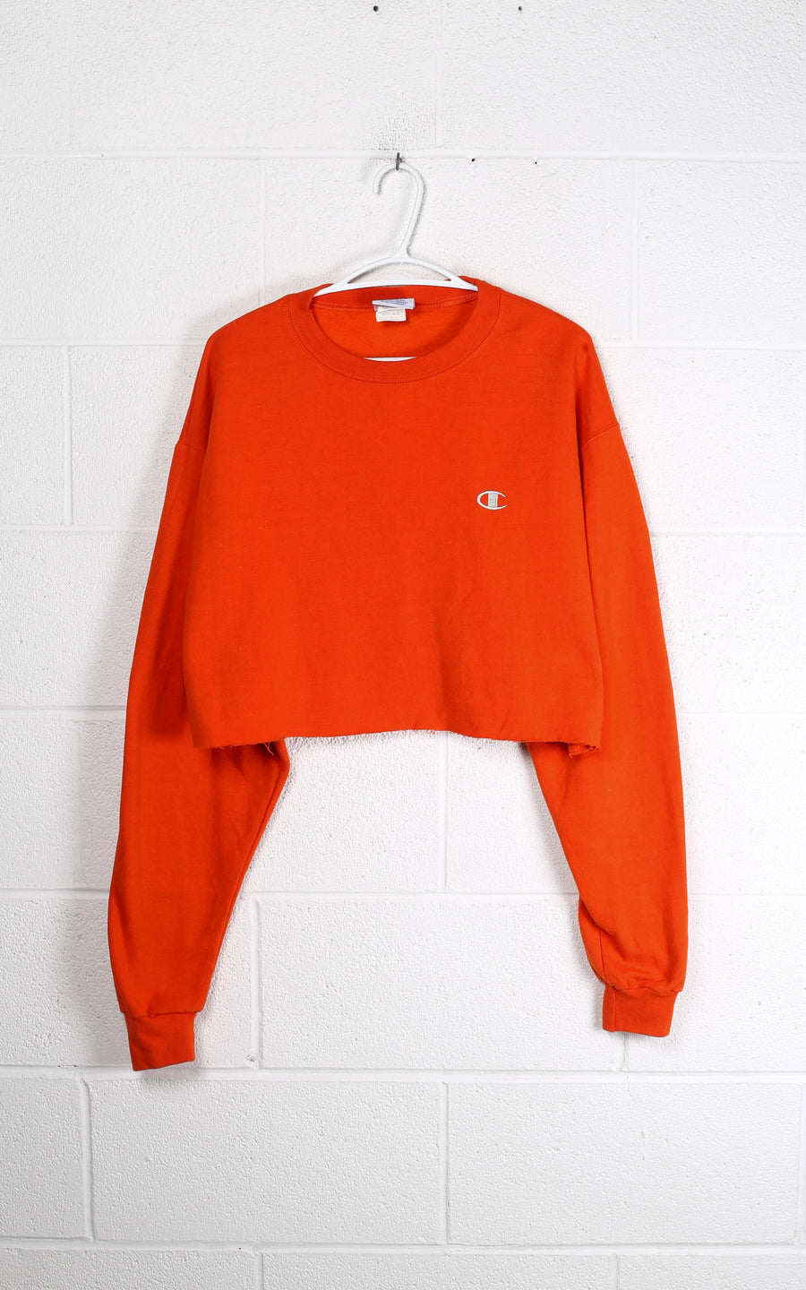 Vintage Rework Champion Crop Sweatshirt