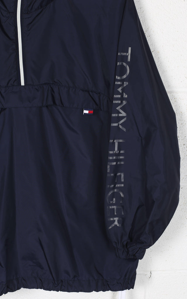 Vintage Tommy Pullover Windbreaker Jacket