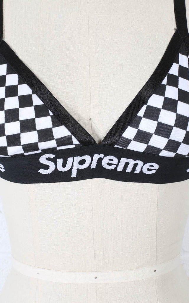 Rework Supreme Checkered Bralette