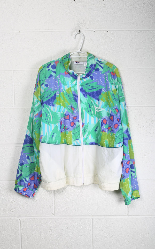 Vintage Reebok Windbreaker Jacket