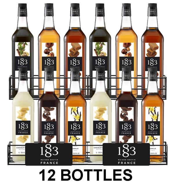 Routin 1883 Syrups - Mixed Case of 12