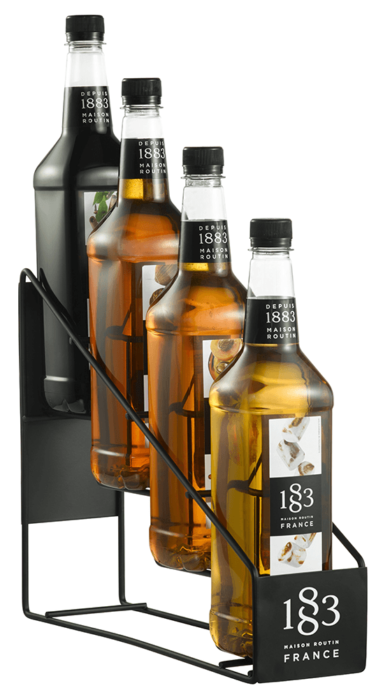 Routin 1883 Syrup - 4 Bottle Display Rack