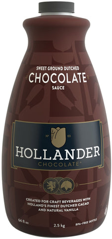 Hollander Chocolate - Sweet Ground Dutched Chocolate Sauce