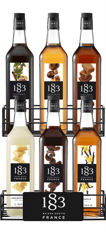 Mixed Case of 6 Routin 1883 syrups