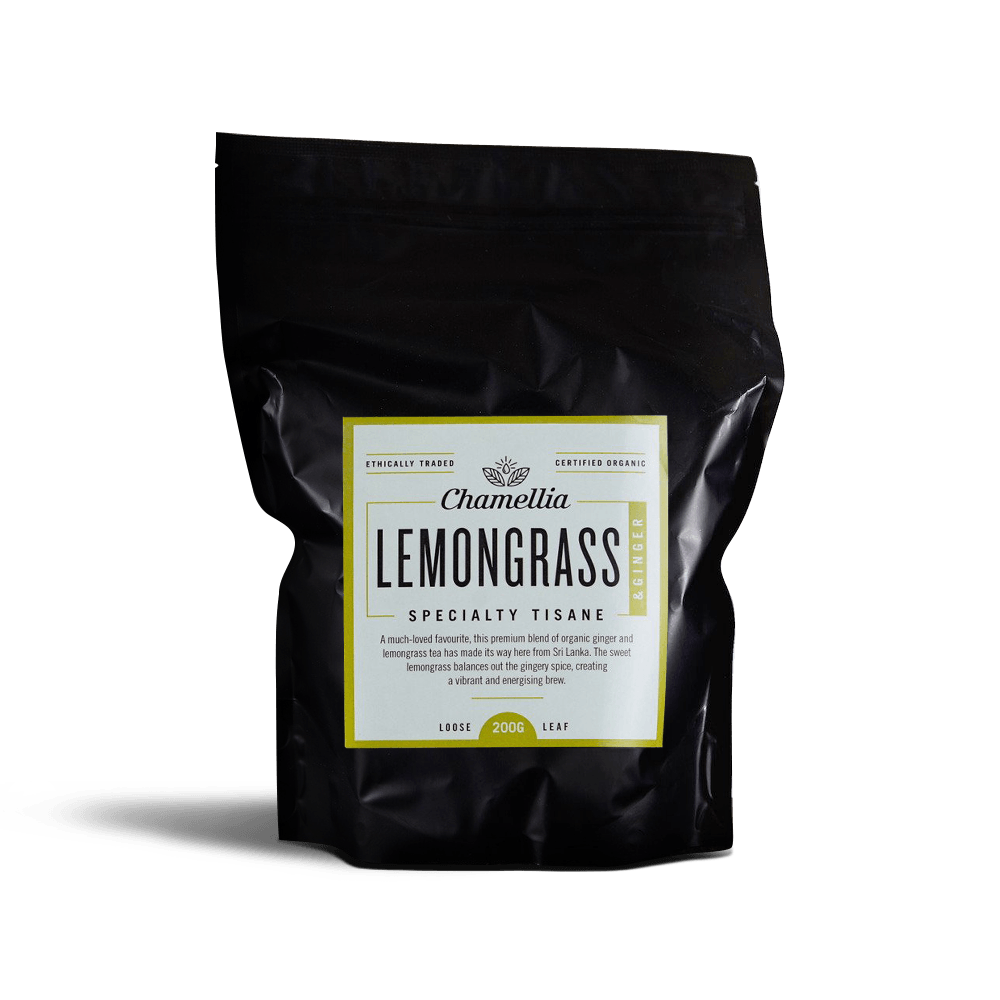 Chamellia Organic Lemongrass & Ginger Tea