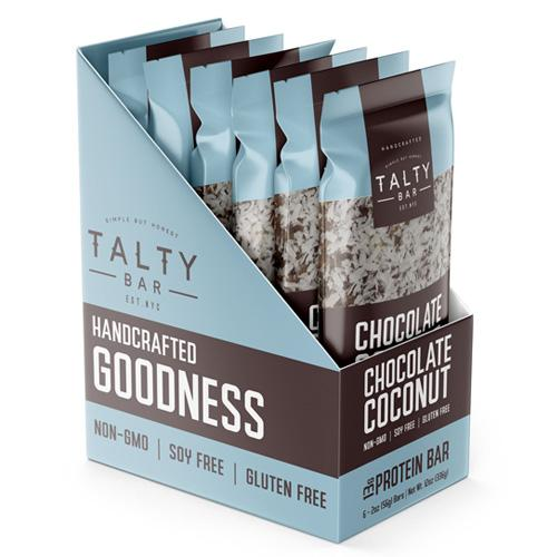 Chocolate Coconut Talty Bars