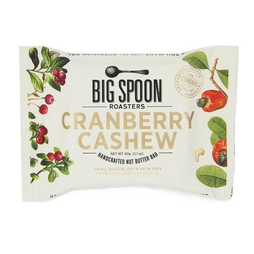 Big Spoon Roasters Cranberry Cashew Nut Butter Bars