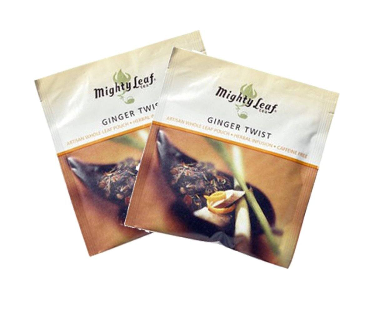Mighty Leaf Ginger Twist Tea Bags