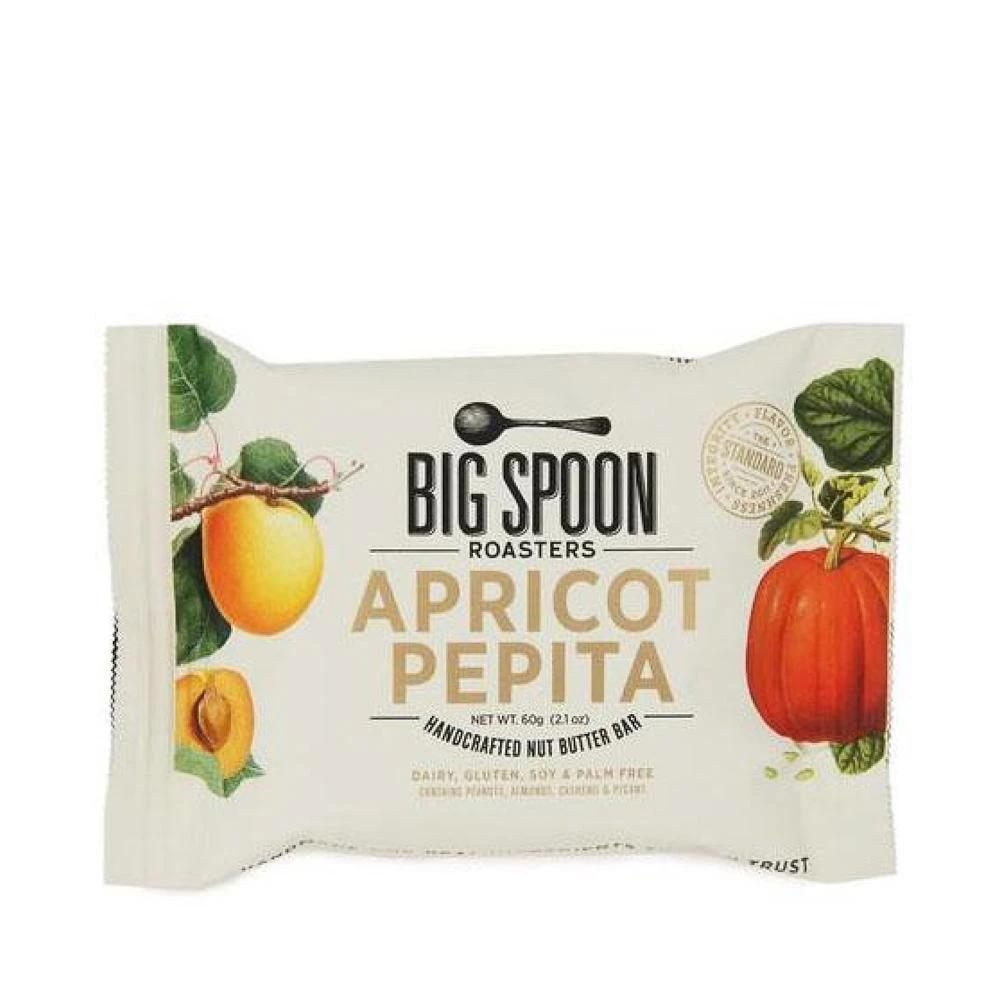 Big Spoon Roasters Handcrafted Apricot Pepita Nut Butter Bar