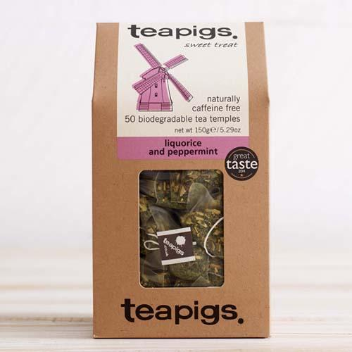 TeaPigs Liquorice & Peppermint Tea