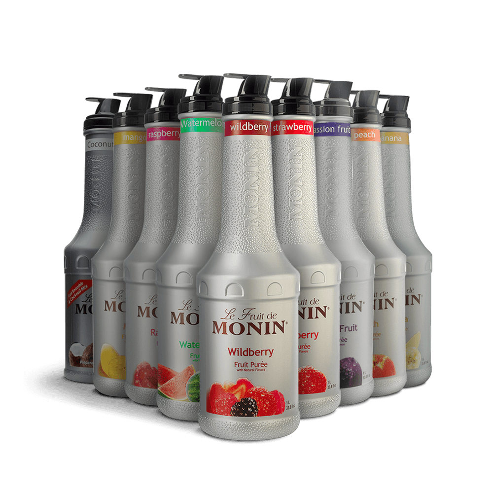 Monin Puree (Mixed Case)