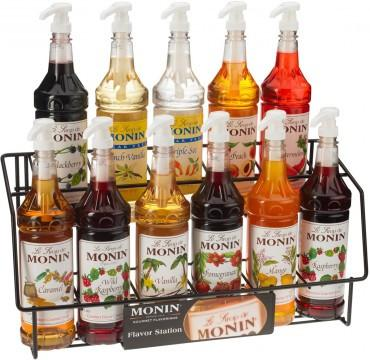 Monin 11ct Syrup Rack