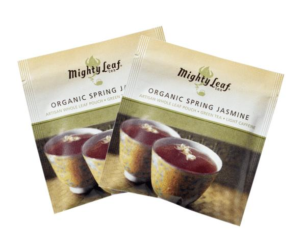 Mighty Leaf Organic Spring Jasmine Tea bags