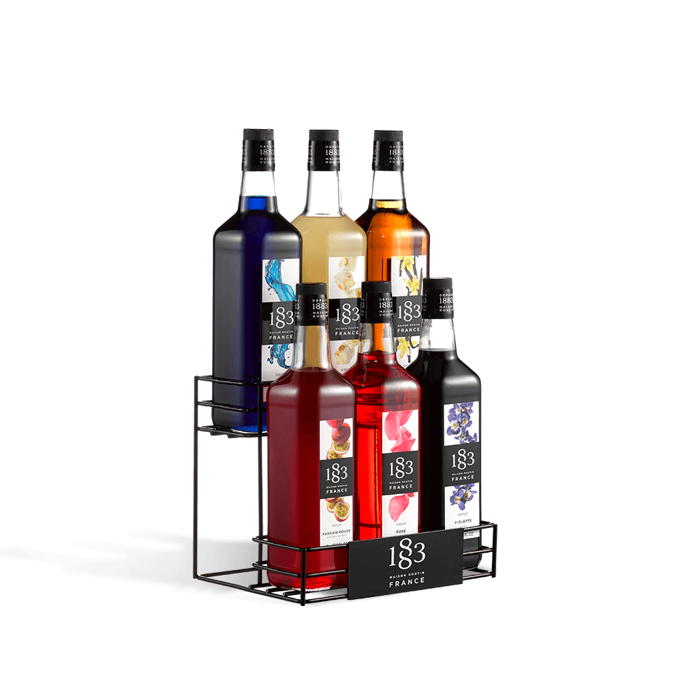 Routin 1883 Syrup - 6 Bottle Display Rack