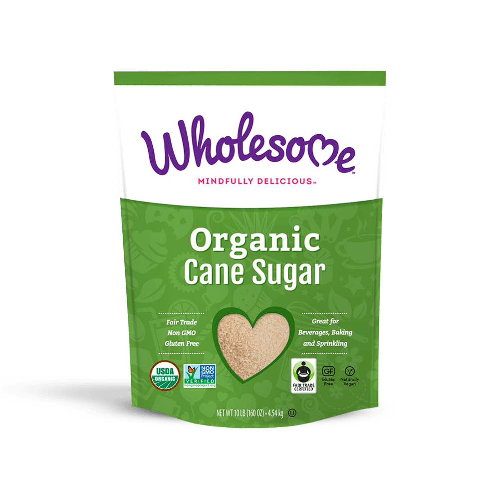 Wholesome Sweeteners Fair Trade Organic Cane Juice - 50lb Bag