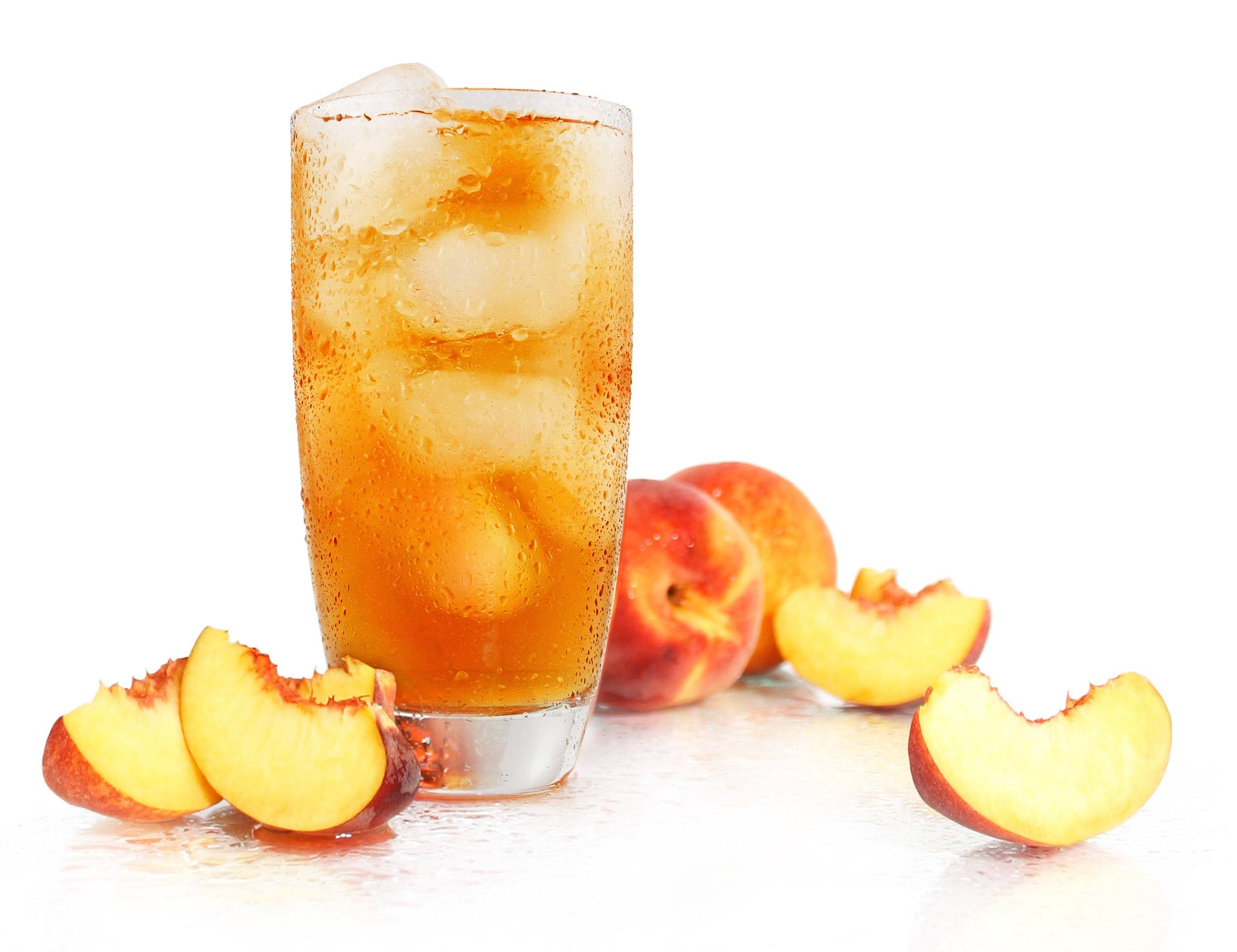 Rishi Tea Organic Peach Black Iced Tea