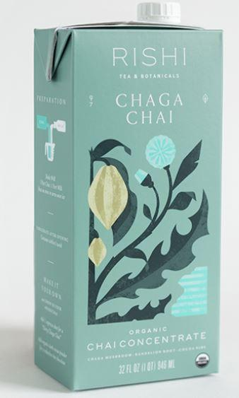 Rishi Chaga Chai Concentrate - 2 Cartons - Free 2-Day Shipping