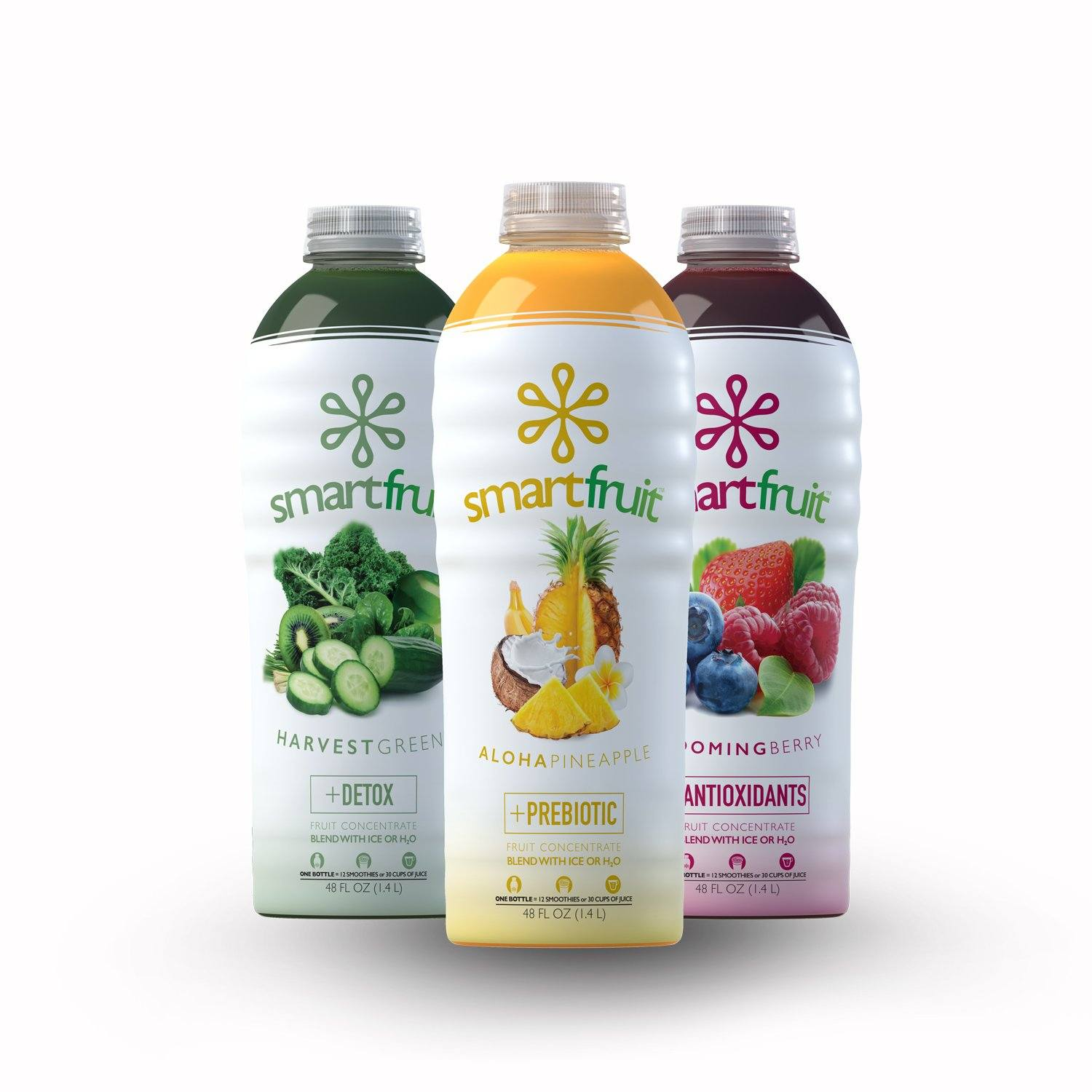Smartfruit Fruit Puree (2 Mixed Cases)