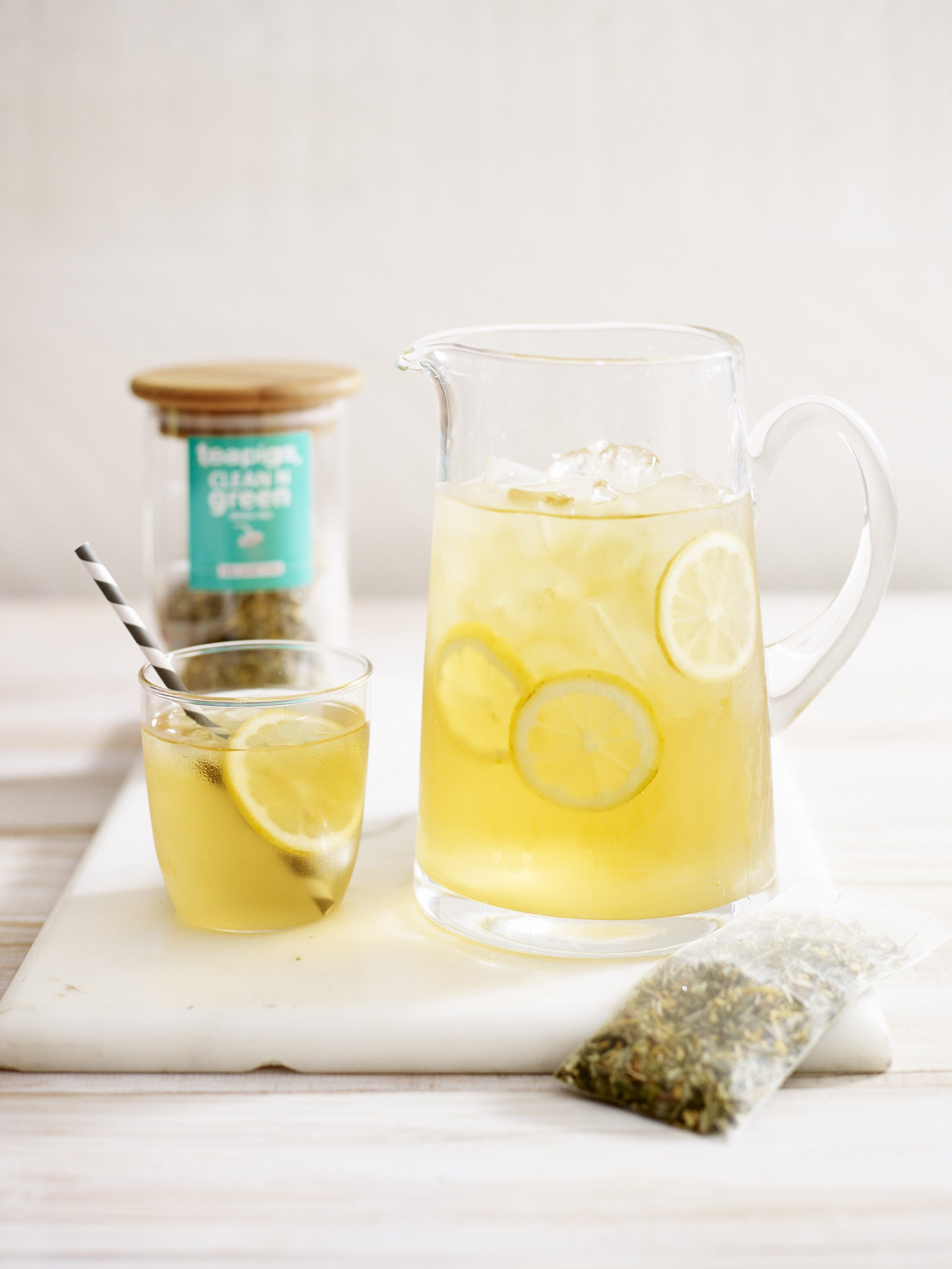 TeaPigs Bright n Green Iced Tea
