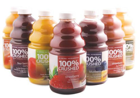 Dr. SMOOTHIE 100% CRUSHED FRUIT SMOOTHIE CONCENTRATE