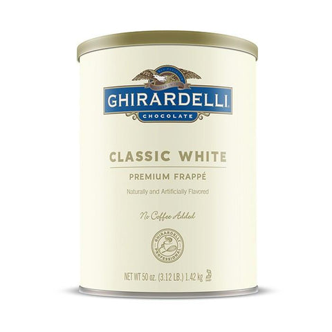 Ghirardelli White Chocolate Frappe