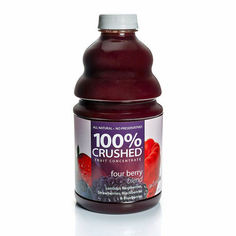 Dr. Smoothie Four Berry 100% Crushed Fruit Smoothie Concentrate